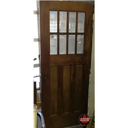 Wooden Door - 8 Lite (32  x 80  Standard)