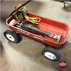 Radio Special Wagon w/Contents (Bike Pump, Block & Tackle, etc)