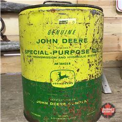 John Deere 5 Gal Oil Pail