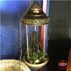 Mineral Oil Hanging Rainfall Lamp