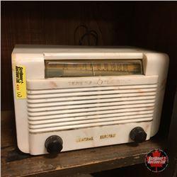 General Electric Radio (White)