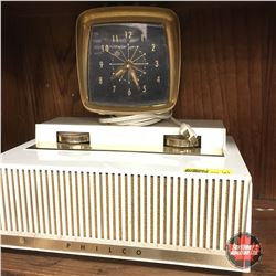 Philco Radio (White)