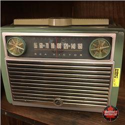 "RCA Victor ""Globe Trotter"" Radio (Green)"