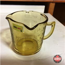 Depression Glass (Amber) Measuring Cup
