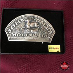 John Deere Moline, ILL Rounded Top Belt Buckle
