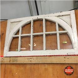 10 Lite Transom Wooden Sash Window (Arch Inset)