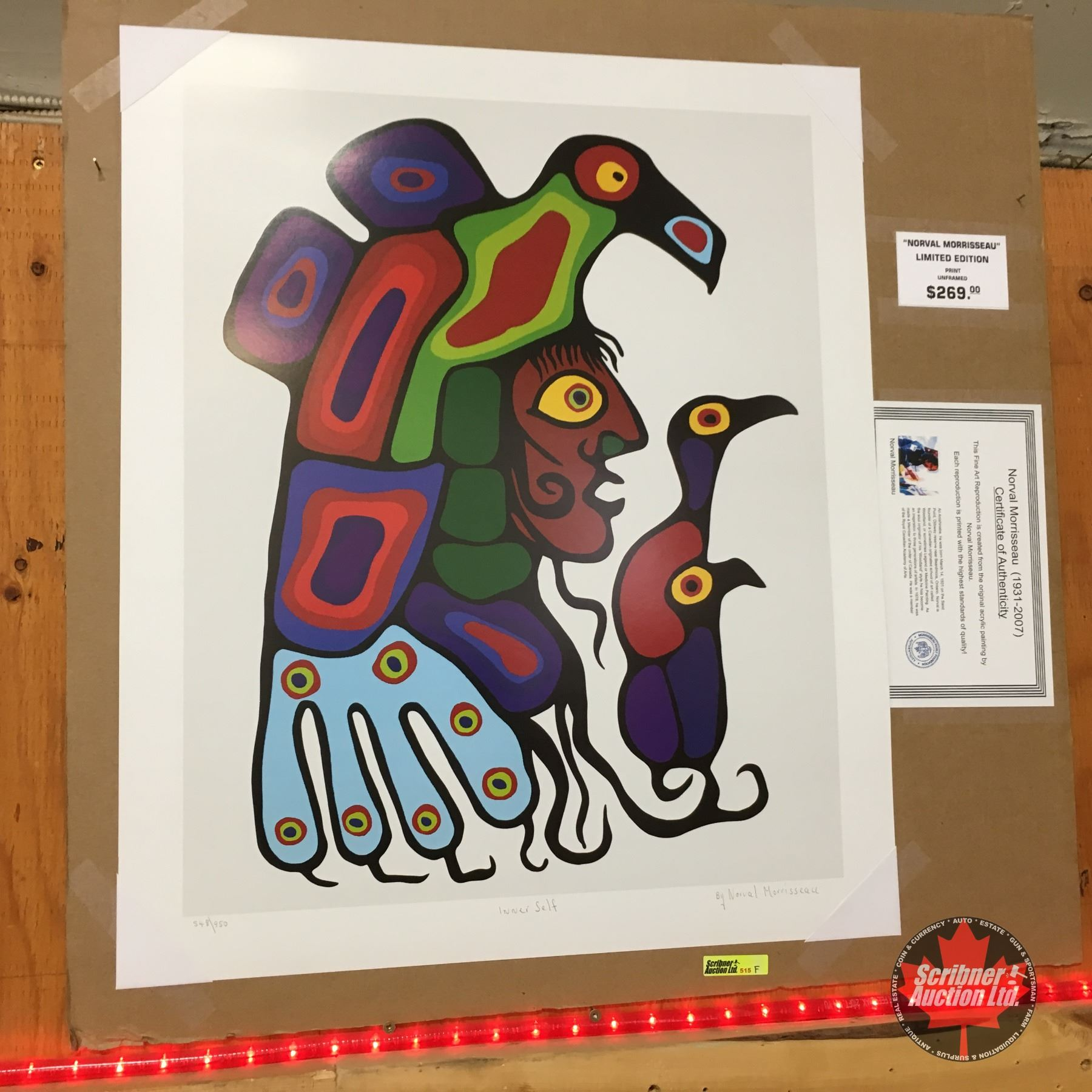 Limited Edition Prints - Artist : Norval Morrisseau