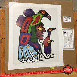 """Limited Edition Prints - Artist : Norval Morrisseau  """"Inner Self"""""""