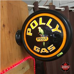 Polly Gas  Globe Repro (Missing Back Glass)