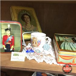 Royal / Monarch Collectibles (Tins, Cups & Pins)