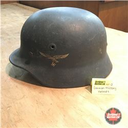 WWII German Military / Airman Helmet
