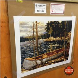 "Limited Edition Prints - Artist : Group of Seven ""The Canoe"""