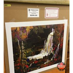 Limited Edition Prints - Artist : Group of Seven  Woodland Waterfalls