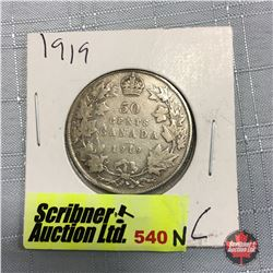 Canada Fifty Cent 1919