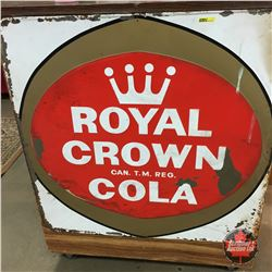 "Royal Crown Cola Sign 35"" x 35"""