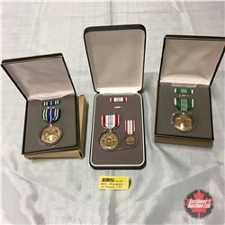 U.S. Medals in Cases (3)