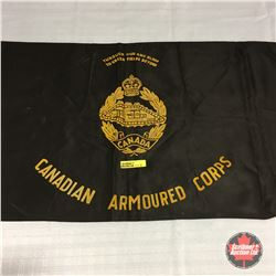 Canadian Armoured Corps WW2 Pennant