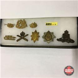Post WW1 Badges - Canadian & Vancouver Regiment (8 Items)