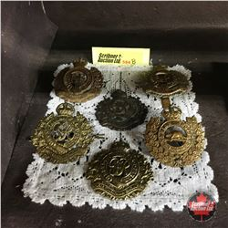 """Royal Canadian Engineers"" Hat Badges (6 Items)"