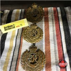 """British Royal Engineers"" Hat Badges (3 Items)"