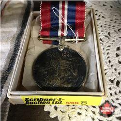 WW2 Canadian 1939-1945 Medal