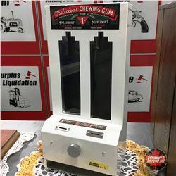 Delicious Chewing Gum Counter Top Vending Machine Dispenser