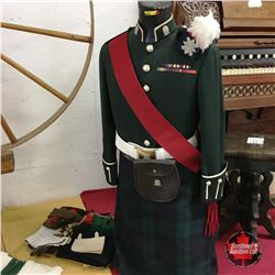 Uniform: Lanark & Renfrew Scottish Regiment (60's & 70's) WW2 Vet w/CD Total 7 Bar (Rank: Master War