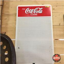 Coca-Cola Menu Board 14  x 23