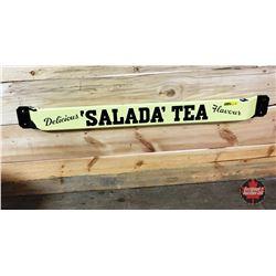 """Door Push Bar """"Salada Tea"""""""