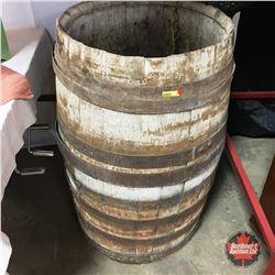 Pair of Wine Barrels