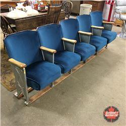 Row of Theatre Seats (5) 98