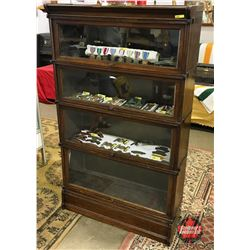 """Barrister 4 Stack Bookcase """"AMYL"""""""