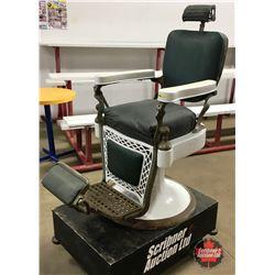 Vintage Barber Chair  Emil J. Paidar Company Chicago