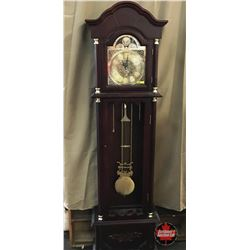 "Grandfather Clock ""Daniel Dakota"" Batt Operated (Missing Front Glass)"