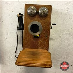 "Wood Box Telephone ""Northern Electric"""