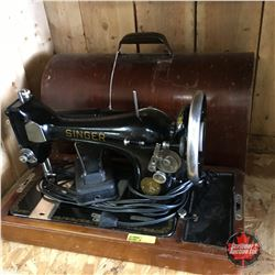 Singer Electric Sewing Machine (S/N: JB536768 = St. Johns, NFLD)