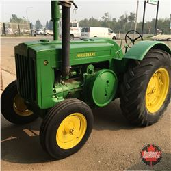 John Deere D Tractor 1946 (Not Currently Running)