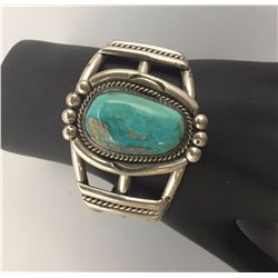 Nice Bracelet, Turquoise and Sterling