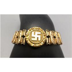 Early 1900s Swastika Bracelet and Original Box