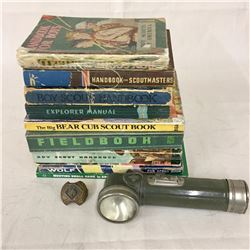 Group of Boy Scout Items
