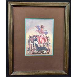 Signed Woody Crumbo Print