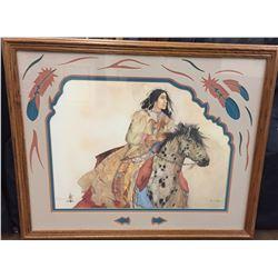 Large, Carol Griggs Framed Print