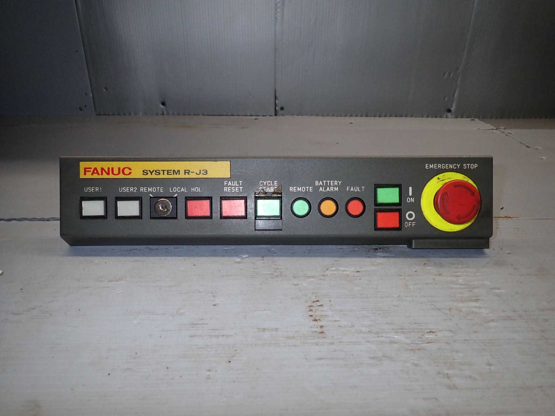 FANUC A05B-2400-C001 OPERATOR CONTROL PANEL