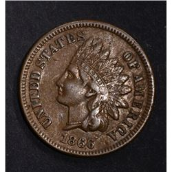 1866 INDIAN HEAD CENT, XF/AU