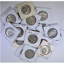 $10 FACE KENNEDY HALF DOLLARS