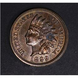 1899 INDIAN HEAD CENT, PROOF RB with spot