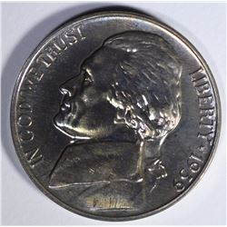1939 JEFFERSON NICKEL GEM PROOF