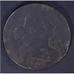 1801 1/000 LARGE CENT, VG