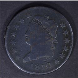 1810 CLASSIC HEAD LARGE CENT, VG