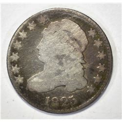 1825 CAPPED BUST DIME, VG